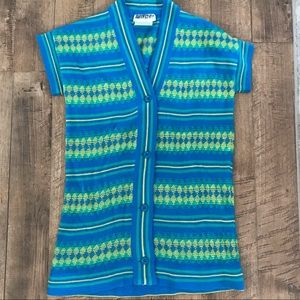 Women's 70's vintage knit cartigan